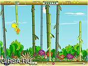 Флеш игра онлайн Tweety Bamboo Bounce