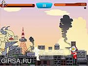 Флеш игра онлайн Ультрачеловек 5 / Ultraman 5