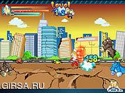 Флеш игра онлайн Ultraman Vs Monsters