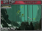 Флеш игра онлайн Harry Potter I - Underwater Wizardry