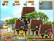 Флеш игра онлайн Гонка среди городских джунглей 3 / Uphill Rush 3