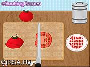 Флеш игра онлайн Готовим Овощной Суп