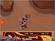 Флеш игра онлайн Дурацкие гонки / Wacky Races