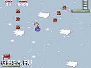 Флеш игра онлайн Требуются: Санта / Wanted: Santa