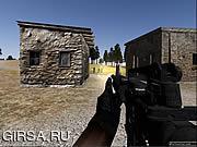 Флеш игра онлайн Военная Игра Стрелялка От Первого Лица