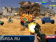 Флеш игра онлайн Warzone - Убежище / Warzone Getaway