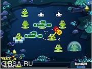 Флеш игра онлайн Лягущонок / Whack the Frog