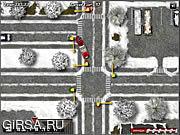 Флеш игра онлайн Winter Bus Driver