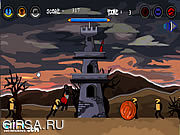 Флеш игра онлайн Оборона замока ведьмы
