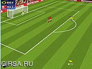 Флеш игра онлайн Голы на Кубке Мира по Футболу