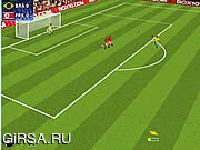 Флеш игра онлайн World Cup Kicks