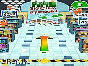 Флеш игра онлайн Боулинг супермаркета Z4H