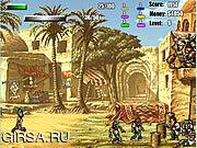Флеш игра онлайн Zombie Slaughter Turbo Edition