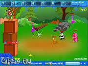 Флеш игра онлайн Паническое бегство Zombeast