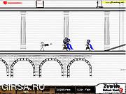 Флеш игра онлайн Зомби атака 3