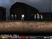 Флеш игра онлайн Зомби Бейсбол 2 / Zombie Baseball 2