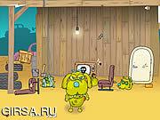 Флеш игра онлайн Зомби-кошки