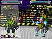 Флеш игра онлайн Zombie Fight Club