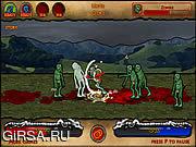 Флеш игра онлайн Zombie Knight