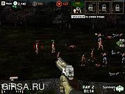 Флеш игра онлайн Зомби в лагере / Zombie Korps