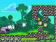 Флеш игра онлайн Zombie Launcher