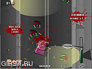 Флеш игра онлайн Zombie Night Madness