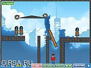 Флеш игра онлайн Zombie Physics