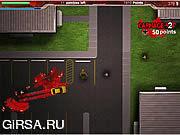 Флеш игра онлайн Zombie Ramming