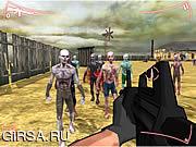 Флеш игра онлайн Зомби шутер 3D / Zombie Shooter 3D