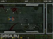 Флеш игра онлайн Поезд Зомби