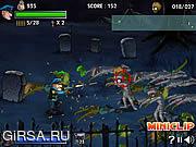 Флеш игра онлайн Ловец зомби 2 / Zombie Trapper 2