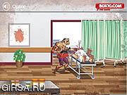 Флеш игра онлайн Zombie Warrior Man
