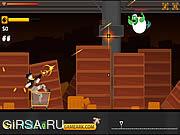Флеш игра онлайн Зомби на колесах: Прибытие / Zombie on Wheels: The Arrival