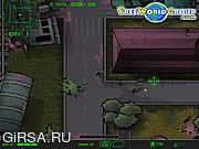Флеш игра онлайн Приключения в зомбилэнде / Zombieman