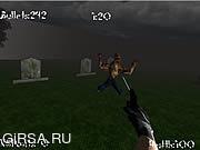 Флеш игра онлайн Зомби Проклятие / Zombies Curse