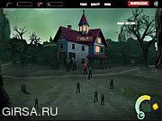 Флеш игра онлайн Zombies In Da House