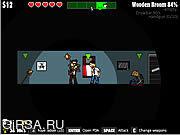 Флеш игра онлайн Zombies Took My Daughter