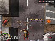 Флеш игра онлайн Прокатки падения / Zombogrinder