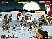 Флеш игра онлайн Зомбилэнд / Zombudoy 2: The Holiday