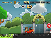 Флеш игра онлайн Zoo Transport