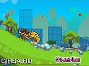 Флеш игра онлайн Тележка зверинца / Zoo Truck
