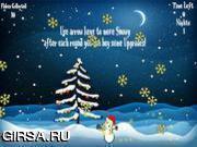 Флеш игра онлайн Рождественское пожелание
