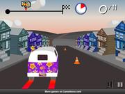 Флеш игра онлайн Накуренная поездка