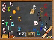 Флеш игра онлайн Веселый алфавит
