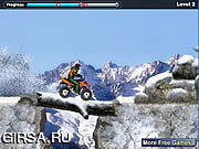 Флеш игра онлайн Зимняя гонка
