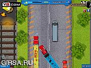 Флеш игра онлайн Гонка на грузовиках
