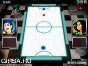 Флеш игра онлайн Air Hockey Worldcup