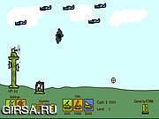Флеш игра онлайн Противовоздушнаяа оборона 2 / Air Defence 2