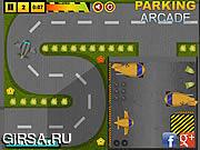 Флеш игра онлайн Airport Service Parking