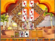 Флеш игра онлайн Арабский пасьянс